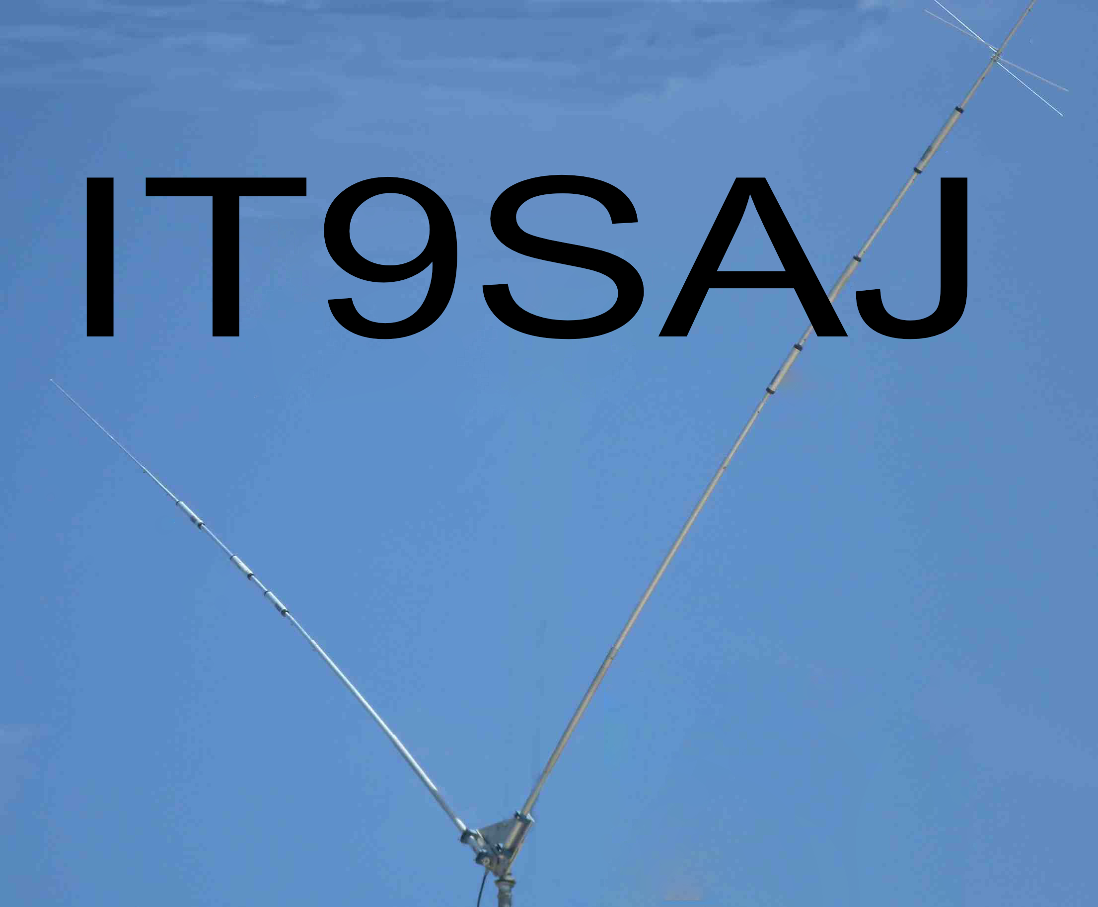 Antenna Bipolo a V IT9SAJ